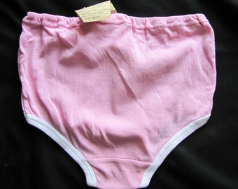 pink thong.vintage panties. woman briefs.  made in USSR. new with tags