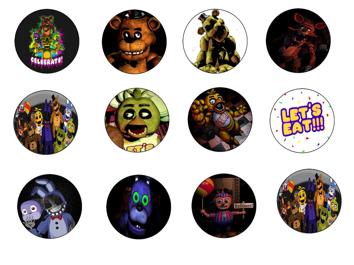 Five Nights at Freddy's Edible Cake Images by ...