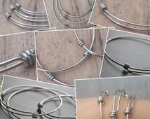 50 - 60mm Stainless Steel Expandable Bangle Bracelets  - Wholesale Bulk order of Expandable Bangle Bracelets - Adjustable Bangle