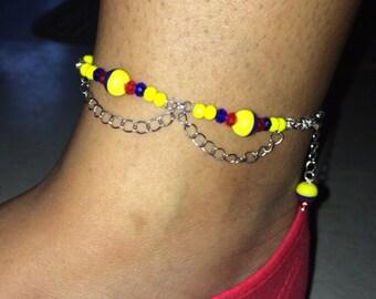 Colombian ankle bracelet