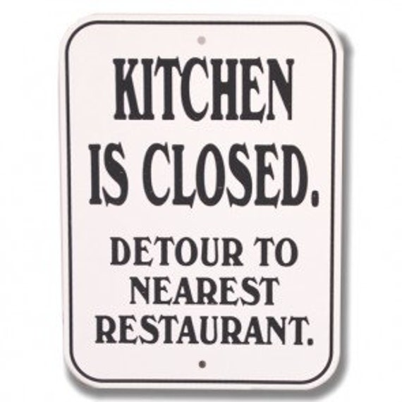 Magnet For Kitchen Is Closed For Fridge By Buffyscollectables