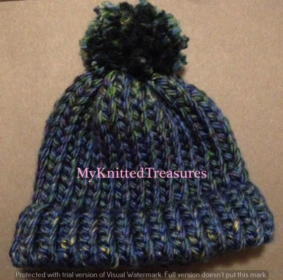Loom Knit Hat Pattern : Loom Knit Baby Hat Pattern