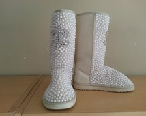 Unique Bedazzled Uggs Related Items Etsy