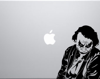 Joker decal for laptop
