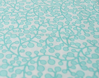 Modern Vines Aqua from Modernology by Art Gallery fabrics quilt fabric by the half yard or yard