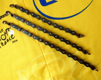 Bike Chain Bracelet. For the cyclist that thinks they have everything! 3 sizes available, made in Newcastle Upon Tyne.