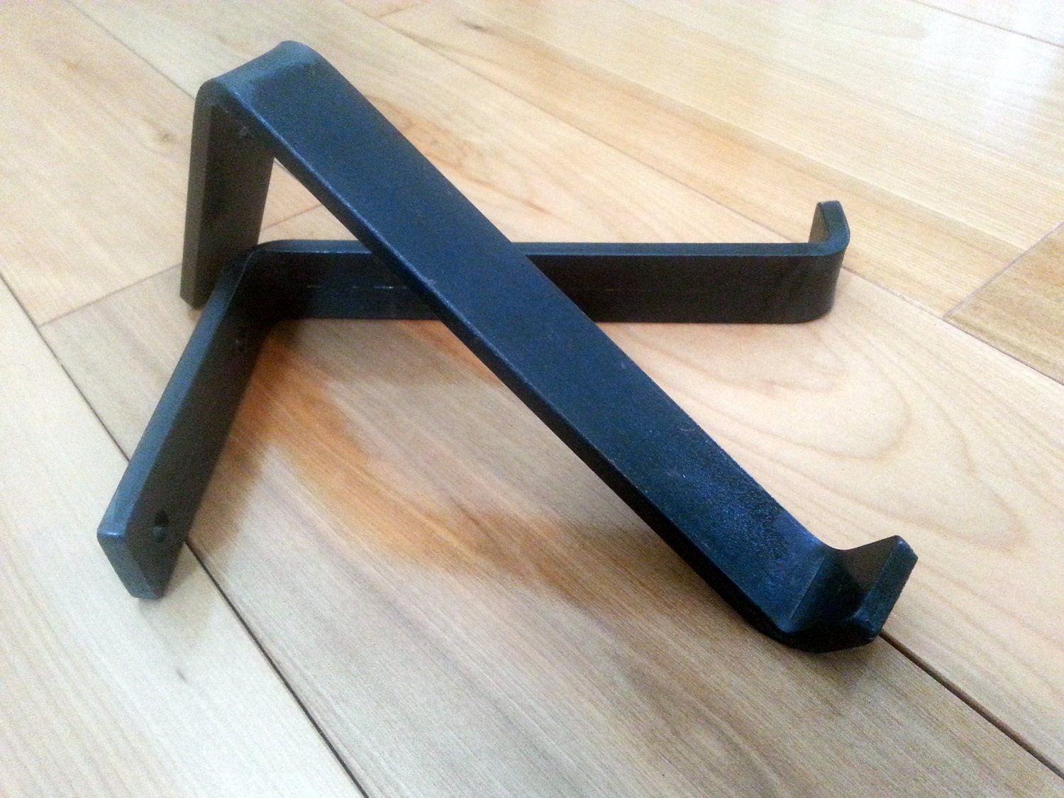 Hand Forged Shelf Brackets Up To 8 By DirtFrogFurniture On