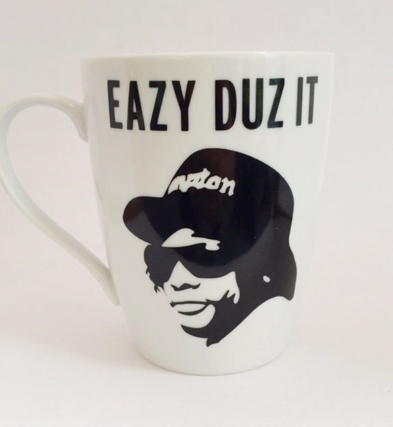 Eazy E Eazy Duz It Classic Hip Hop Rap Mug By Zoeybirdy