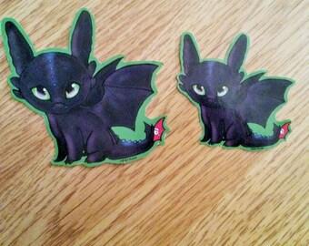 Cute Toothless Sticker