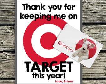 Teacher Appreciation Digital Download - On Target