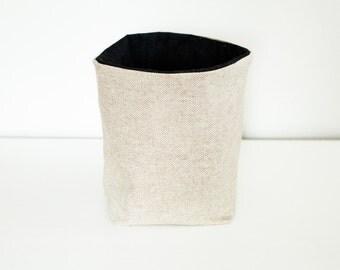 woven fabric bin
