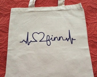Love Finn Tote {Proceeds to benefit Blumenthal Family}