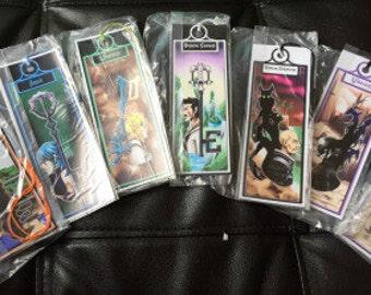 Kingdom Hearts Birth by Sleep Themed Bookmarks
