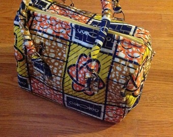 Yellow Frenzy Purse