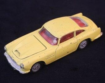 Vintage Corgi Toys: Aston Martin DB4 Sports Car No 218. Unboxed.