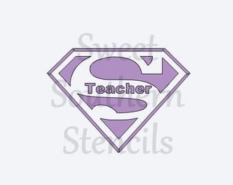 Superteacher Stencil