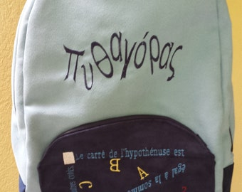 Pythagore's school backpack