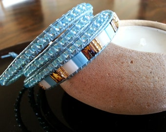 A Set of two bracelets  for summer holidays