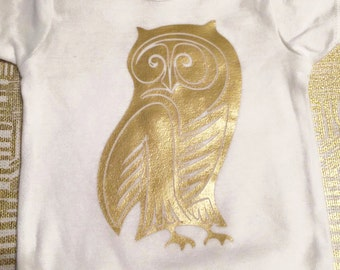 Children's Owl Tee *CHARITABLE DONATION MADE for each purchase*