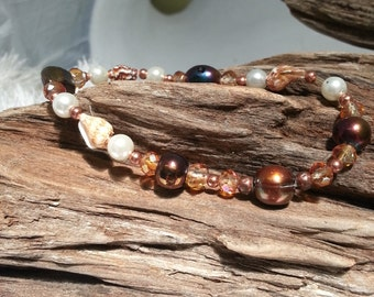 Sea Shell Stretch Bracelet