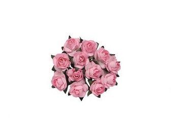 Small Paper Flowers - (144 pcs) - Free Shipping!