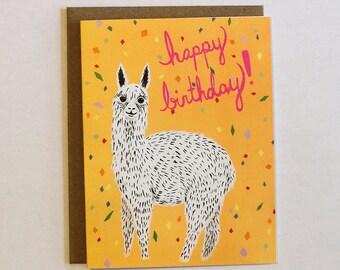 Alpaca Birthday