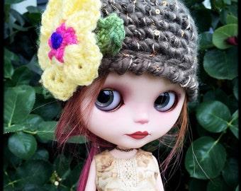 "Blythe crochet hat ""Anna"""