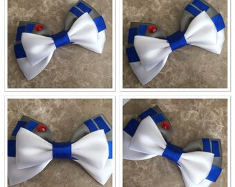 R2d2 hair bow starwars