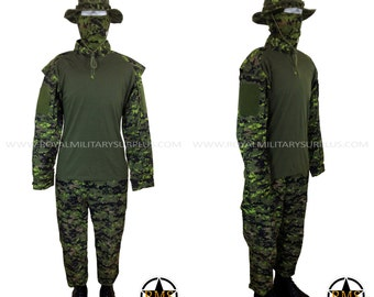 Military Costume / Army Style Clothing - Tactical Trooper Kit - Canada Army Digital Camouflage - Airsoft & Paintball - CADPAT (Woodland)