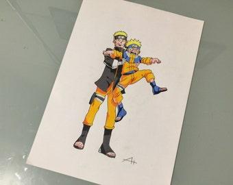 Naruto Illustration Prints (A4)