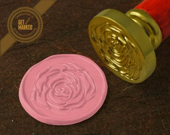Rose - Wax Seal Stamp by Get Marked (WS0085)
