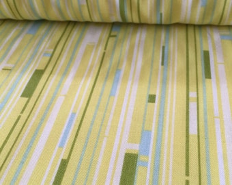 Welcome Road Lemongrass Heather Bailey Nicey Jane Fabric