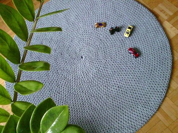 Teppich rund grau filz  Teppich Grau Kurzflor Rund | Haus Deko Ideen