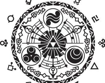 Little Door of Time - Legend of Zelda Decal