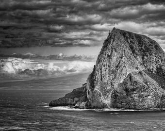 Elephant Rock, Kahakuloa Bay, Maui, Hawaii