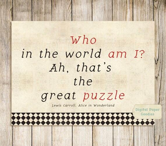 Printable Alice In Wonderland Quotes: Alice In Wonderland Inspirational Quote Home Design
