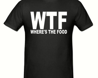 WTF t shirt,men,s t shirt sizes small- 2xl, gift,stag night