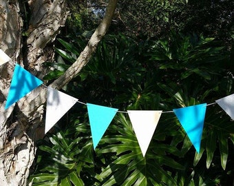 PORTSEA Glitter and Pearl Cardstock Bunting - Wedding, Shower, Party decoration.