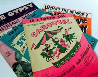 Vintage 5 Piano Sheet Music