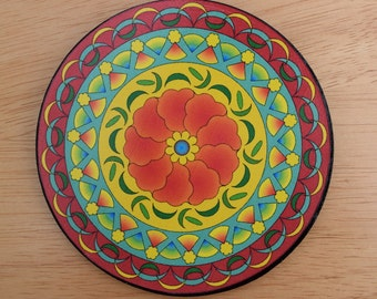 """5"""" Mandala Wall Art - """"Alberta"""""""