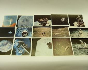 VINTAGE NASA Apollo 15 Photo Set moon space ASTRONAUT Lovell Scott Aldrin 8x10's