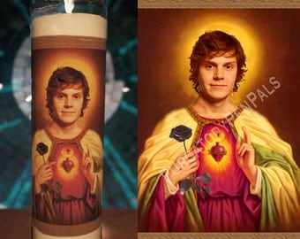 Saint Evan Peters Prayer Candle / Vigil Candle