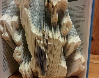 "Book folding pattern ""New York"""