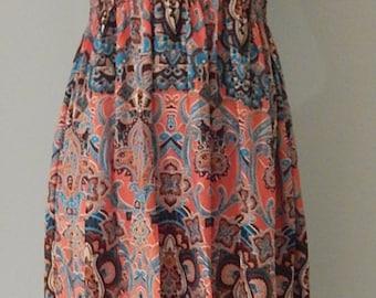 Bohemian 1970's 'STYLE' Maxi dress