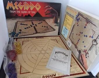 Megiddo From the Sands of Time Board Game 1985 Vintage
