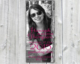Printable Graduation Announcement, Custom Photo Graduation Announcement, Graduation Invitation
