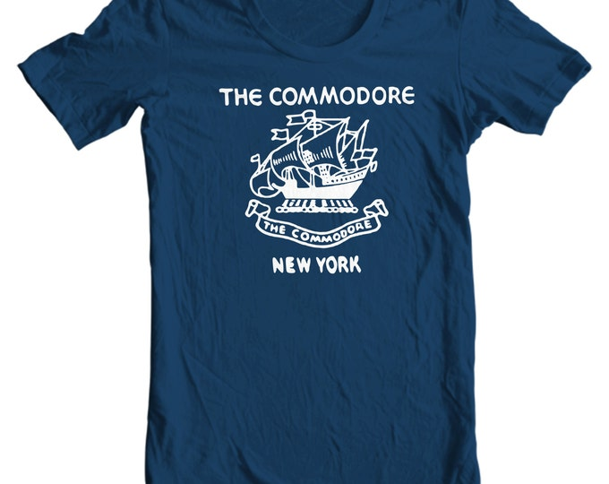 New York T-shirt - The Commodore Hotel New York Vintage Matchbook T-shirt