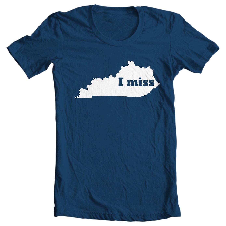Kentucky T-shirt - I Miss Kentucky - My State Kentucky T-shirt