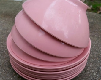 Vintage Melmac Boontonware Dishes