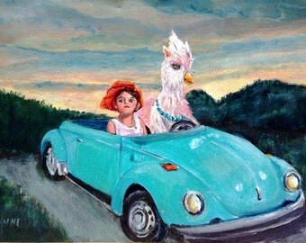 MRS GRYPHON takes a road trip